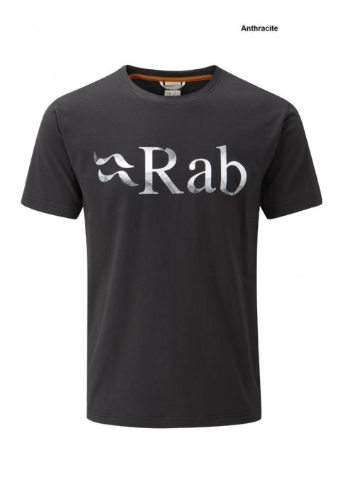 Rab Mens Stance T-Shirt - Feather and Mindful Logo - Organic Cotton